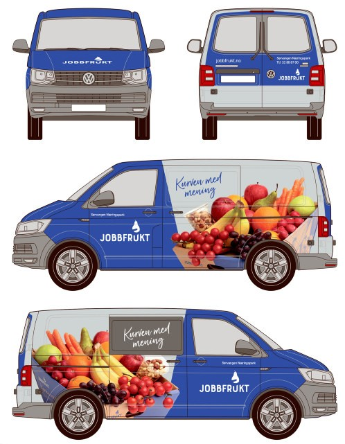 Bilde foliering nye jobbfrukt